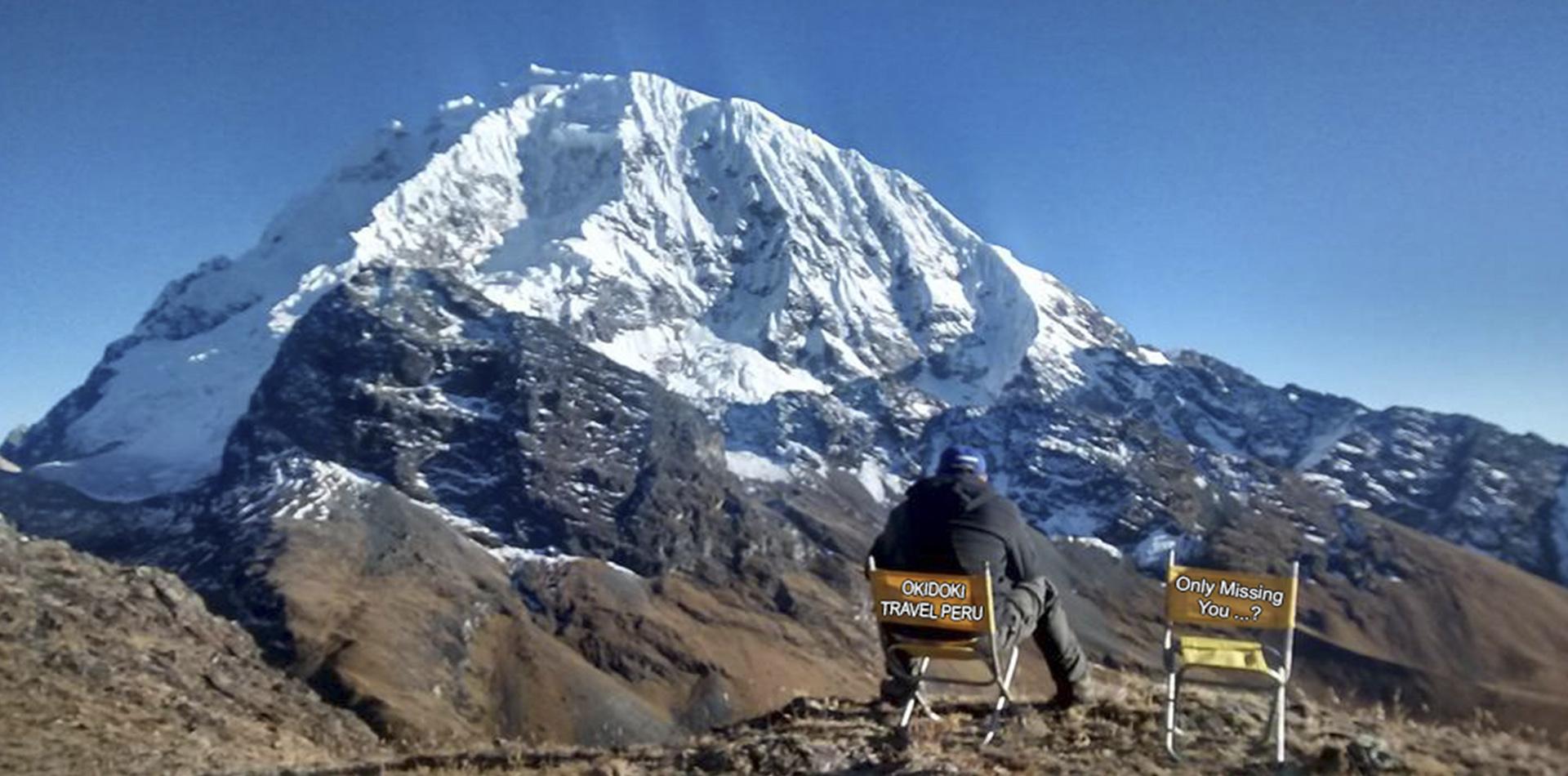 Salkantay Trek to Machu Picchu 6days return by bus last day