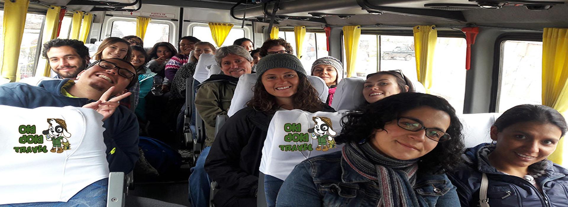 Machupicchu by bus 2 days