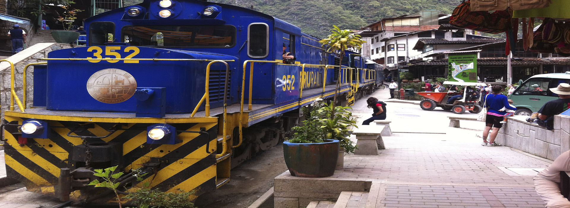 Machu Picchu by train 2 days